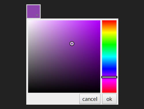 Minimal Mobile-friendly Color Picker In jQuery - drawrPalette