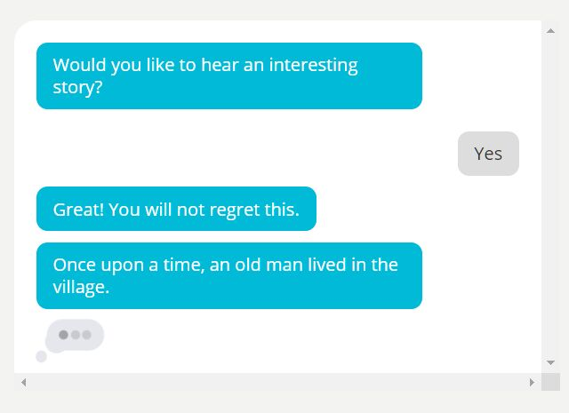 Chatbot-like Conversational UI With jQuery - Flow Chat