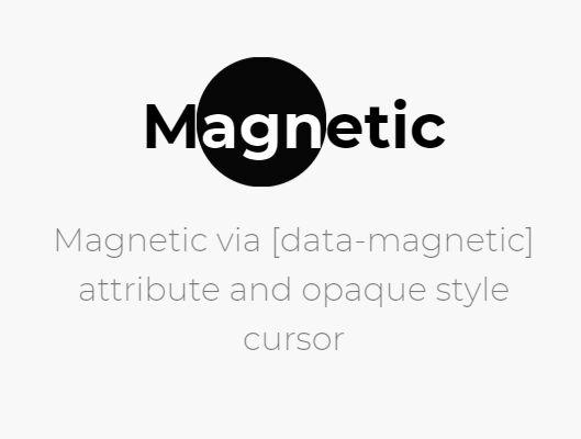 Fancy Cursor Animations In jQuery & GSAP - Cursor & Magnetic