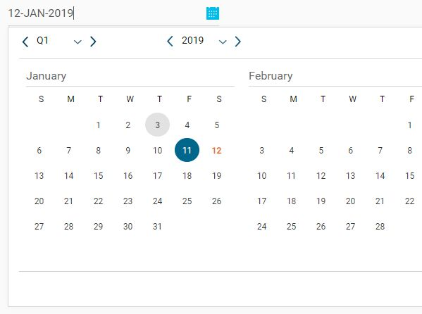 Custom jQuery UI Datepicker With Quarter View - date-picker | Free