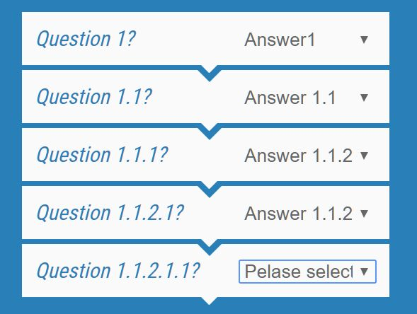 SEO-friendly Decision Tree jQuery Plugin - DecisionSelect