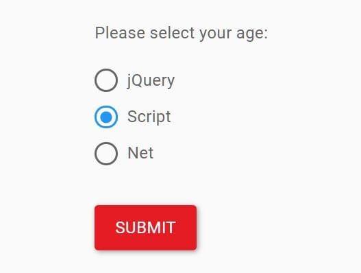 Deselect Radio Buttons With jQuery