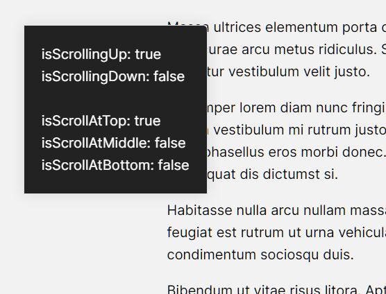 Detect Scroll Direction & Position In jQuery