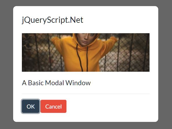 Developer-friendly Inline Modal Plugin - jQuery simple-modal
