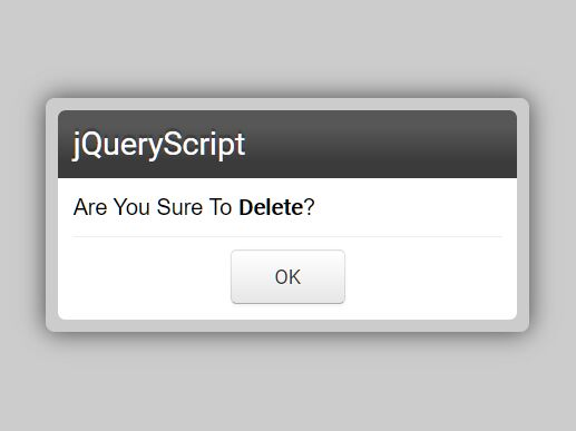 Feature-rich Dialog Popup Plugin In jQuery - Messi