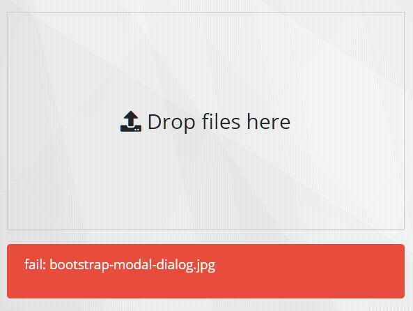 Small Drag & Drop To Upload Plugin - jQuery simple-upload