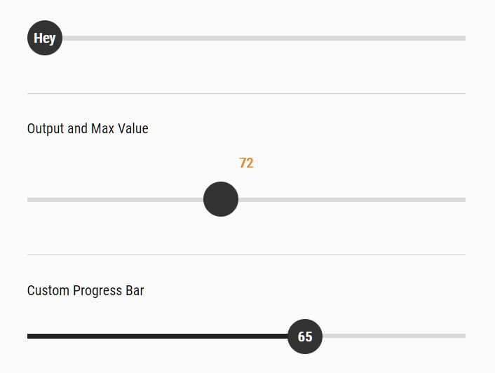 Draggable & Touchable Numeric Slider In jQuery
