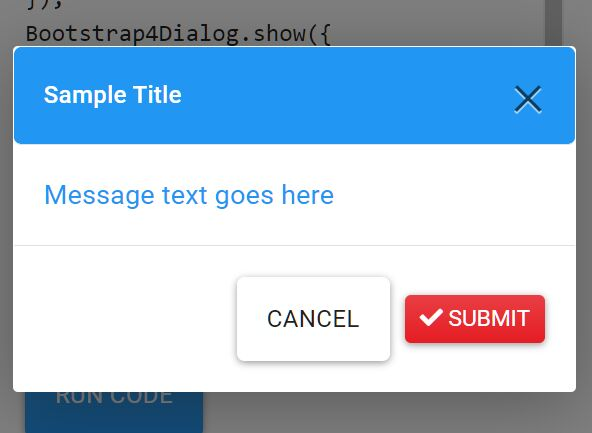 Create Dynamic Bootstrap 4 Dialogs With JavaScript