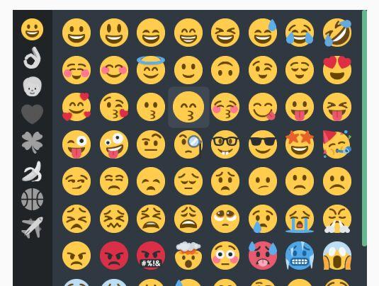 Simple Emoji Picker Based On Twemoji - jQuery disMojiPicker