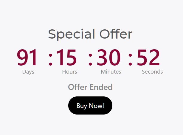 Minimal Event Countdown Timer Plugin - jQuery Multi Countdown