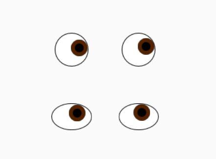 Animated Eyes Follow Cursor When Moving - jqEye