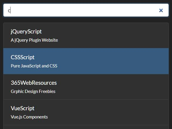 Filter A List Of Links With jQuery - filterList