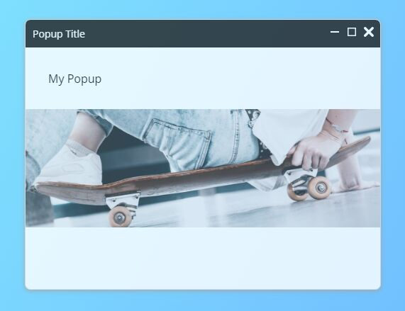Floating Popup Window Plugin With jQuery - Translucent