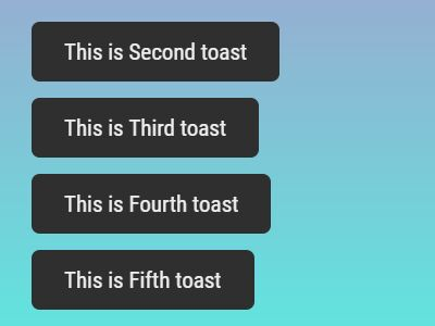 Fluid Non-blocking Toast Message Plugin - jQuery Toastr
