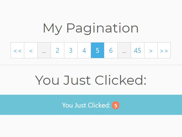 Generic Pagination Component In jQuery - px-pagination.js