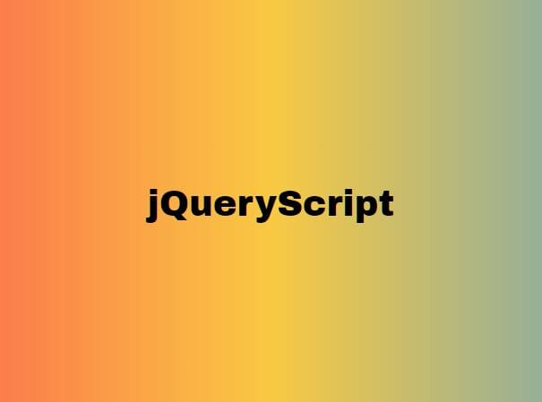 Generate Gradients From uiGradients - jQuery belerise
