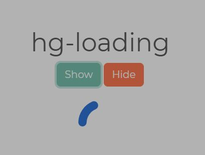 Accessible Loading Indicator With jQuery - hg-loading
