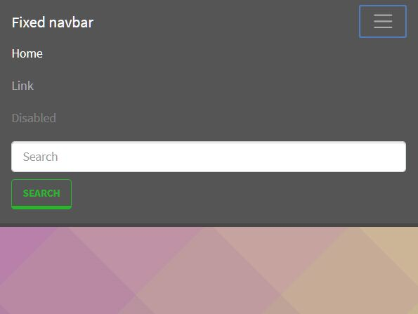 Auto Hide Fixed Bootstrap 4 Navbar On Scroll Down