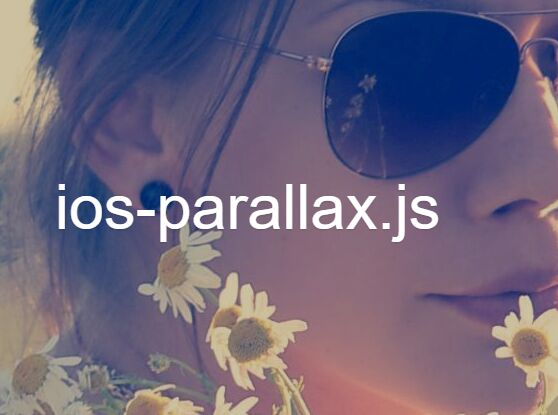 iOS-Style Background Parallax Scrolling Plugin With jQuery - ios-parallax.js