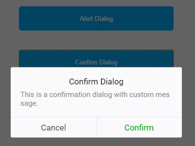 iOS Style Confirm / Alert Dialog Plugin For jQuery - Dialog.js