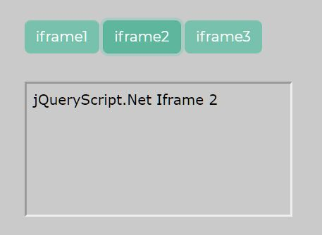 Iframe Content Loader In jQuery - Simple Iframe View