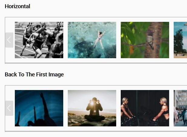 Horizontal/Vertical Image Carousel Plugin - jQuery img-scroll