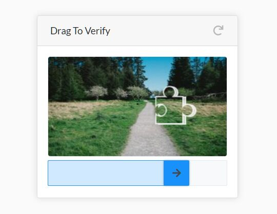 Touch-friendly Image Puzzle Captcha Plugin - jQuery SliderCaptcha