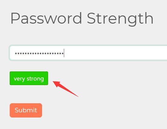 Inform Users Of Password Strength With passwordStrength Plugin