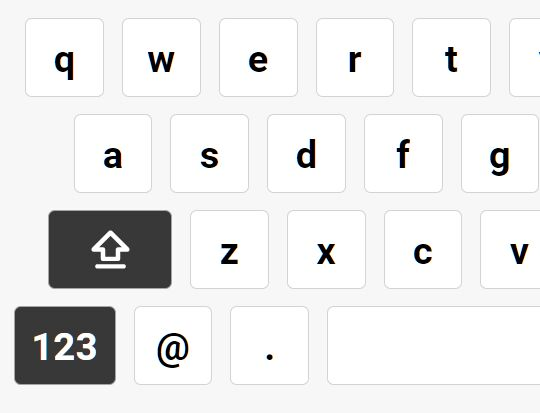 iOS-style Virtual Keyboard In jQuery - ckeyboard
