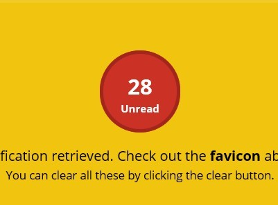 jQuery Animated Favicon Notification Plugin - Notify Better