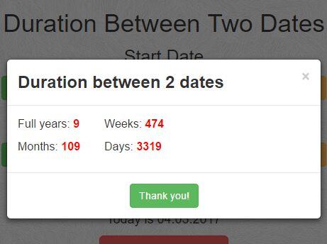 Calculate date online in Perth