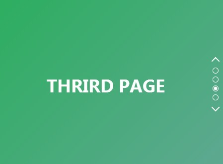 Jquery based one page scrolling navigation with 3d transforms free jquery plugins - Jquery scroll div ...
