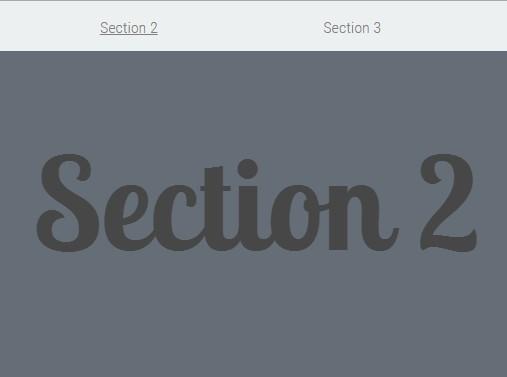 jQuery Based Sticky Navigation with Smooth Scroll Support - stickynav