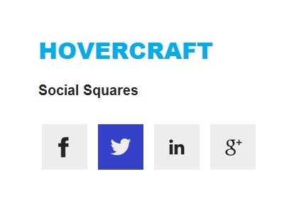 jQuery & CSS3 Based Html Element Hover Effects - Hovercraft
