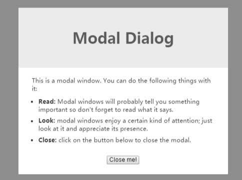 jQuery & CSS3 Powered Modal Window Effects - Nifty.js