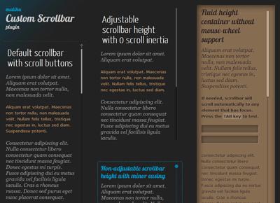 jQuery Custom Content Scroller Plugin