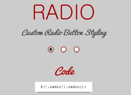 jQuery Custom Form Elements Plugin - Handsome