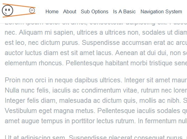 jQuery Dynamic & Sticky Website Header Plugin - HeadShrinker