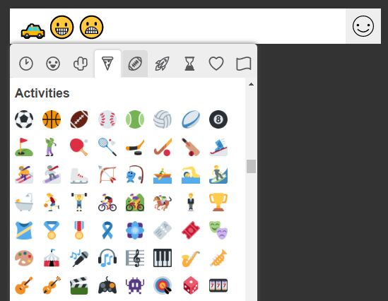 Easy jQuery Emoji Picker For Text Fields
