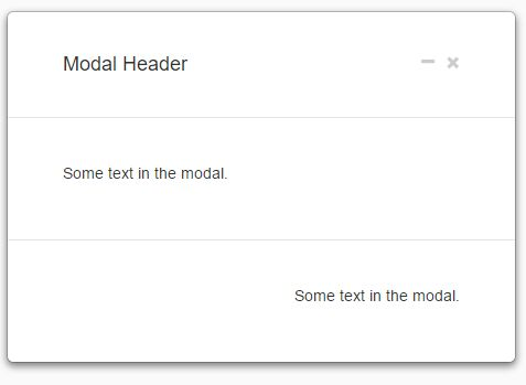 jQuery Extension To Minimize And Maximize Bootstrap Modals