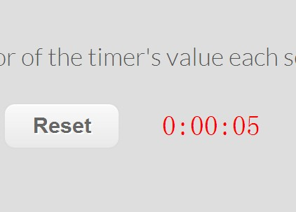 jQuery Full Controllable Countdown Timer Plugin - Backward Timer