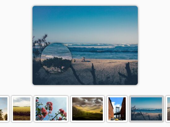 Flexible jQuery Gallery With Image Zoom Integration - Zoom SlideShow