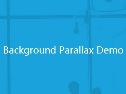 jQuery & Html5 Based Background Parallax Scrolling Effect