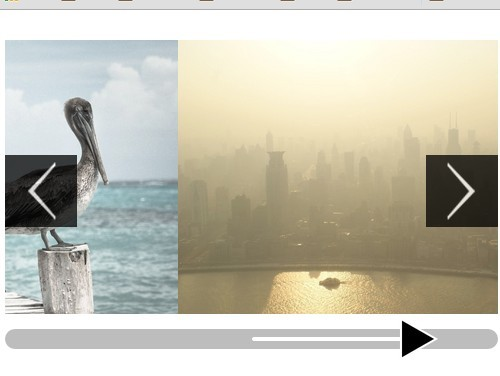 jQuery Image Slideshow With A Cool Slider Control - sampSlider