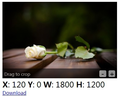 jQuery In-Place Image Cropping Plugin - cropbox