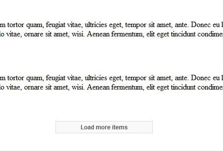 Infinite Ajax Scroll Plugin In jQuery & Vanilla JS - ias.js