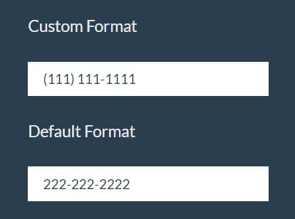 Lightweight jQuery Input Mask Plugin For Phone Numbers