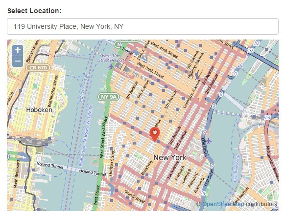 Jquery Location Picker Plugin With Google Maps And