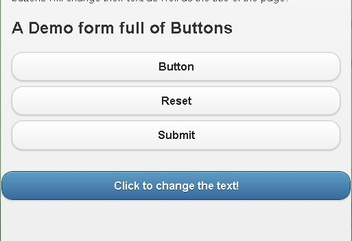 jQuery Mobile Plugin For Changing Text with One Click