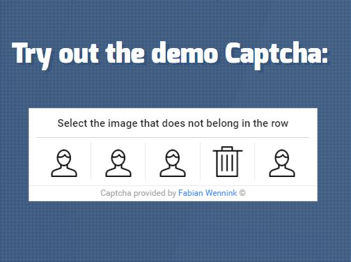 jQuery & PHP Icon Captcha Plugin With Sever-side Validation
